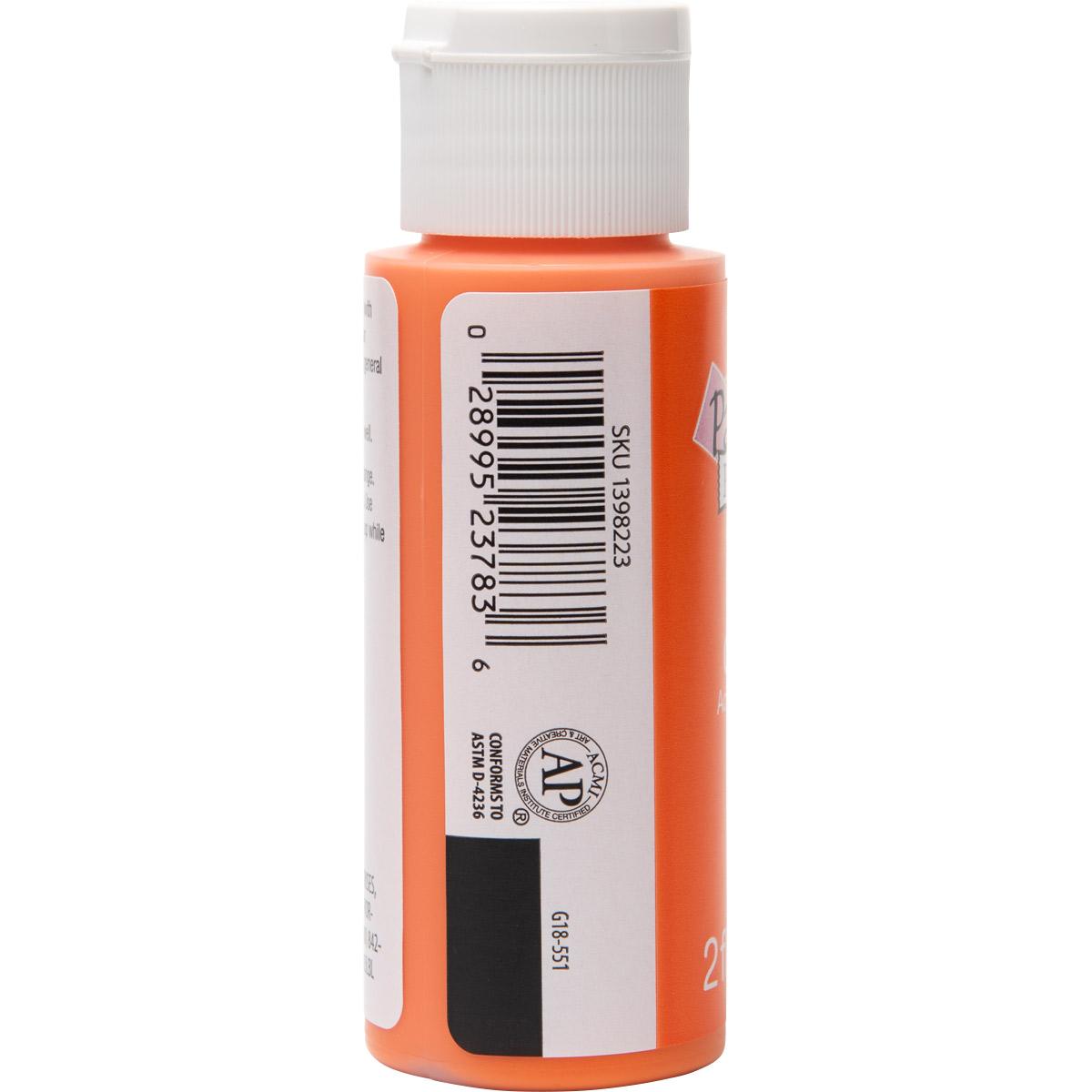 Plaid ® Painter's Palette™ Acrylic Paint - Orange, 2 oz. - 23783