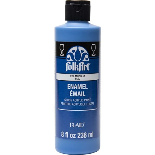 FolkArt ® Enamels™ - True Blue, 8 oz. - 7156