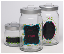 Chalkboard Label Gift Jars