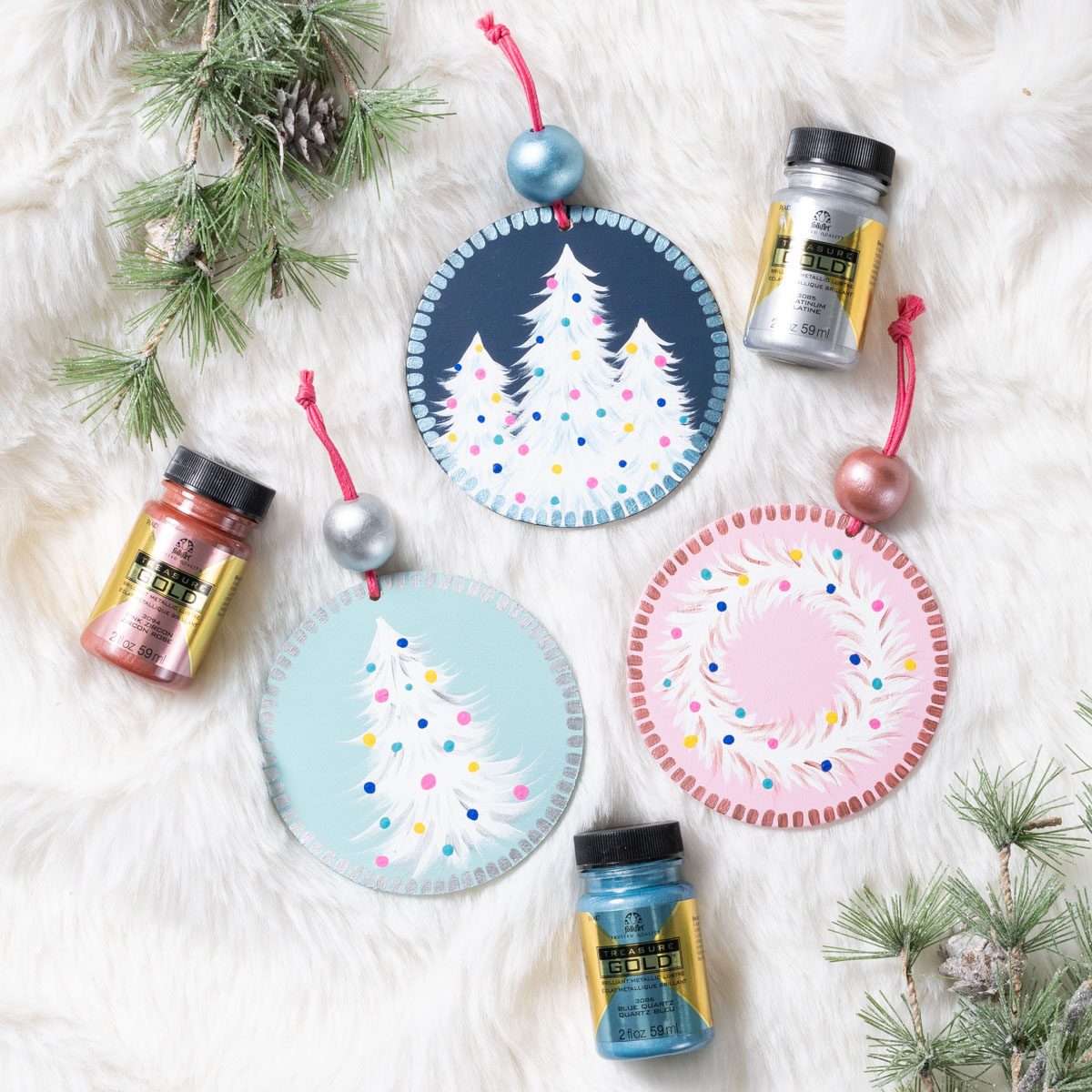 Winter Wonderland Ornaments