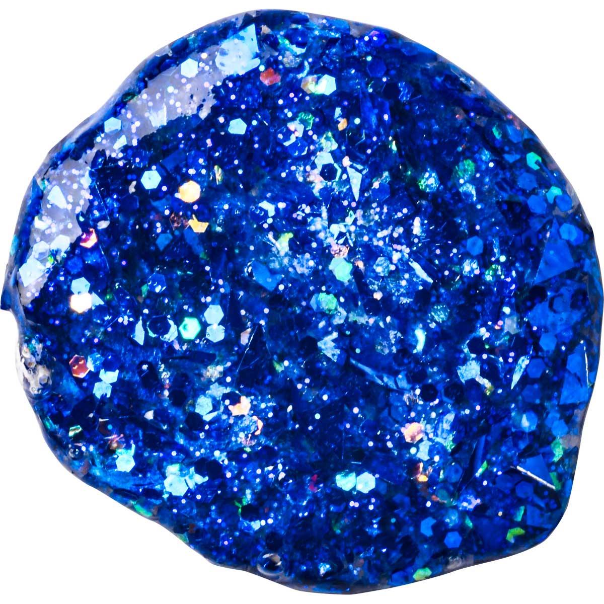 FolkArt ® Glitterific™ Acrylic Paint - Dark Blue, 2 oz.