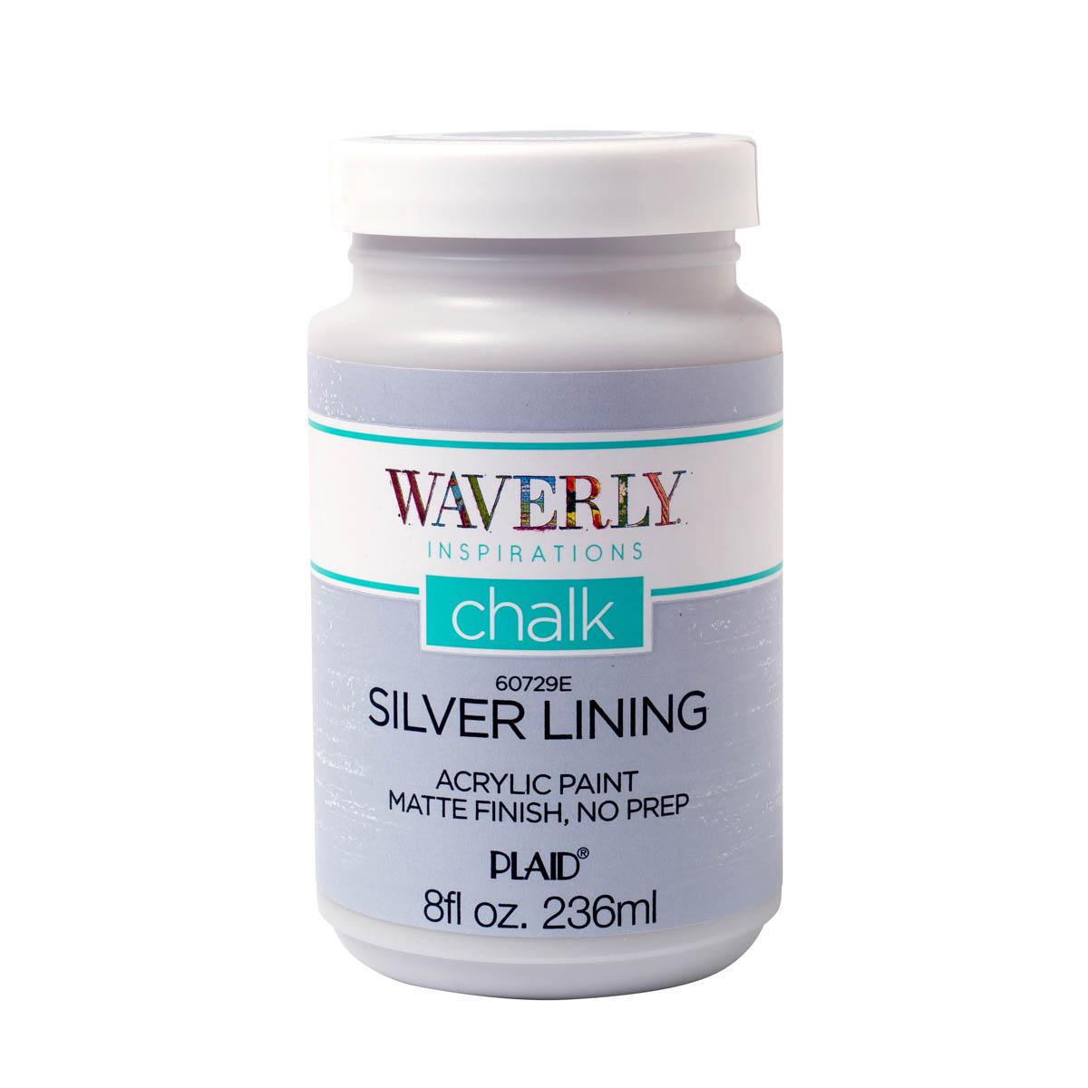 Waverly ® Inspirations Chalk Acrylic Paint - Silver Lining, 8 oz.