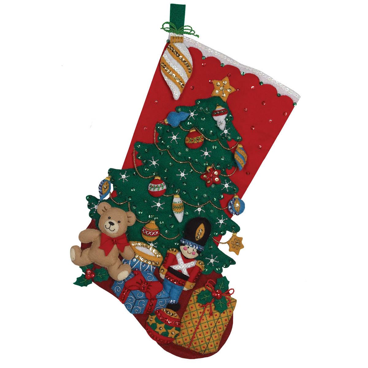 Bucilla ® Seasonal - Felt - Stocking Kits - Under the Tree - 86303