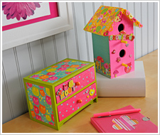 'Give A Hoot' Birdhouse & Chest