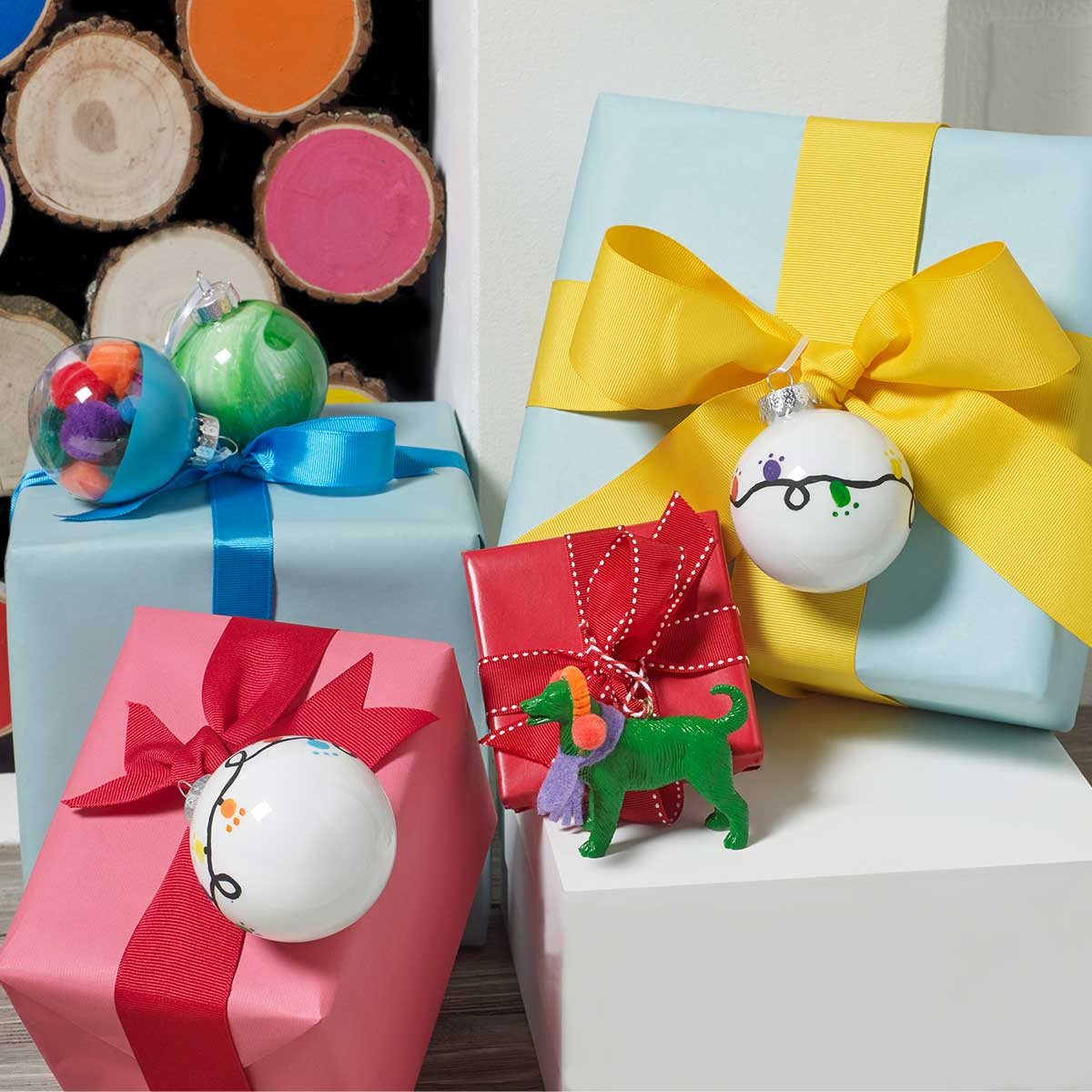 Colorful Ornament Set DIY