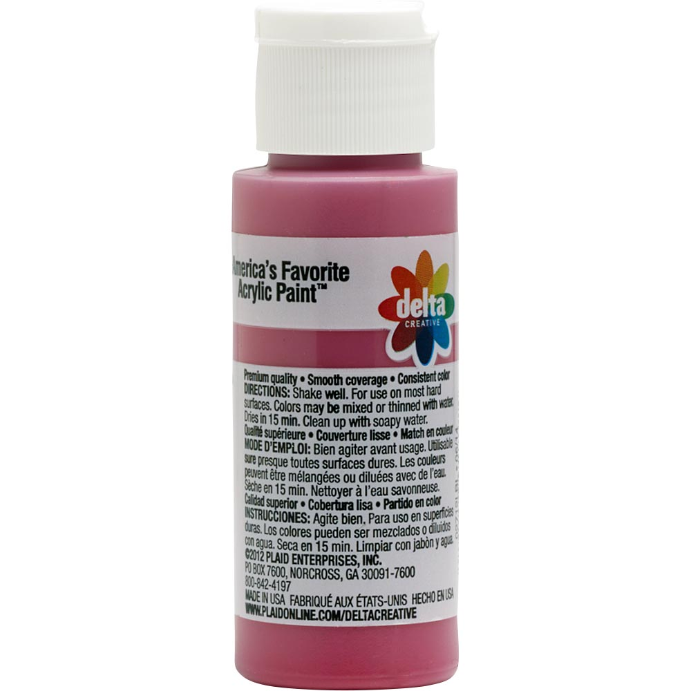 Delta Ceramcoat ® Acrylic Paint - Pomegranate, 2 oz. - 02712
