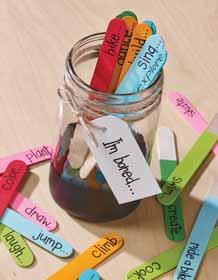 Summer Fun Activity Jar