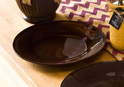 Thanksgiving Buffet Glass Plates