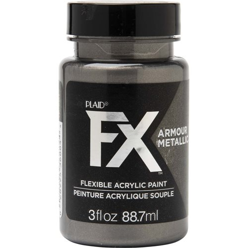 PlaidFX Armour Metal Flexible Acrylic Paint - Samurai Sword, 3 oz. - 36884