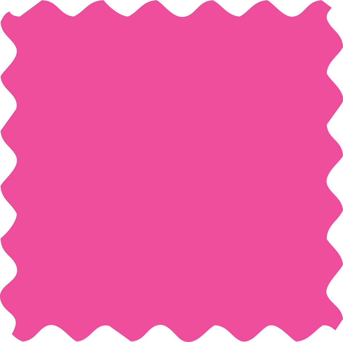 Fabric Creations™ Neon Black Light Fabric Paint - Pink, 2 oz.