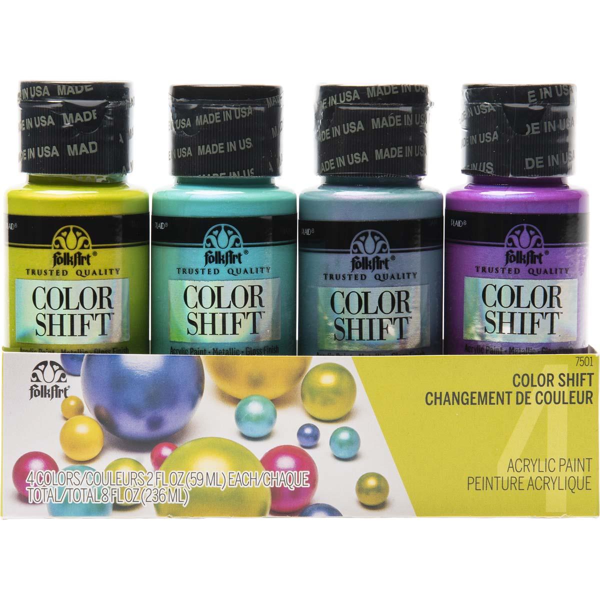 FolkArt ® Color Shift™ Acrylic Paint Set 4 Color - 7501