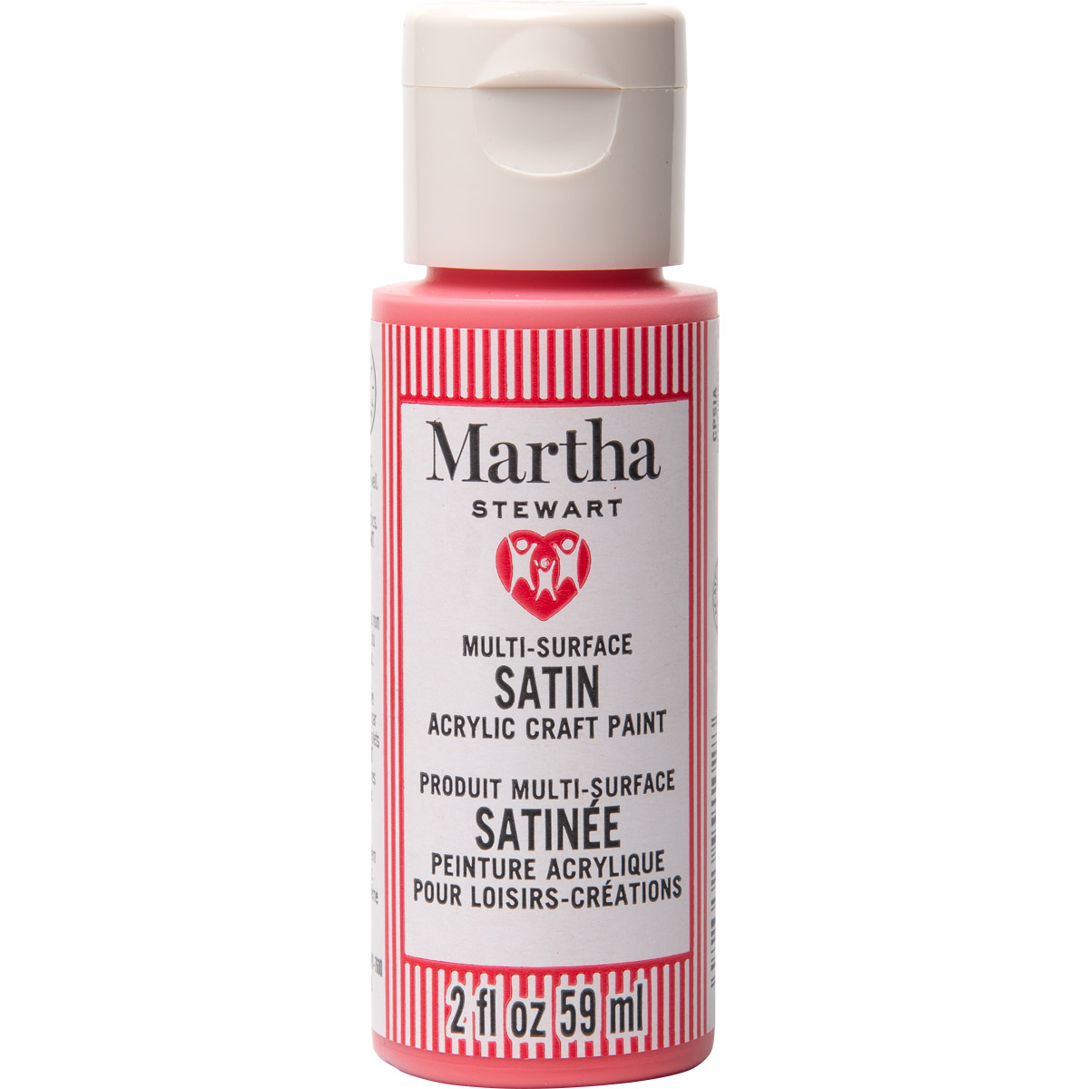 Martha Stewart ® Multi-Surface Satin Acrylic Craft Paint CPSIA - Watermelon, 2 oz. - 99102