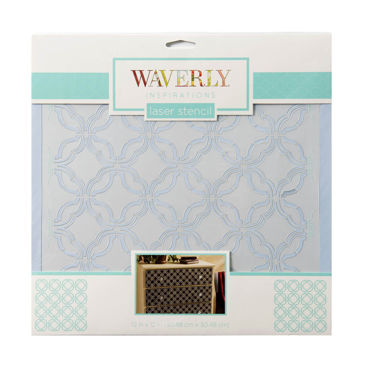 Waverly ® Inspirations Laser Stencils - Décor - Mini Geo, 12