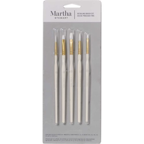 Martha Stewart® Detailing Brush Set - 5pc
