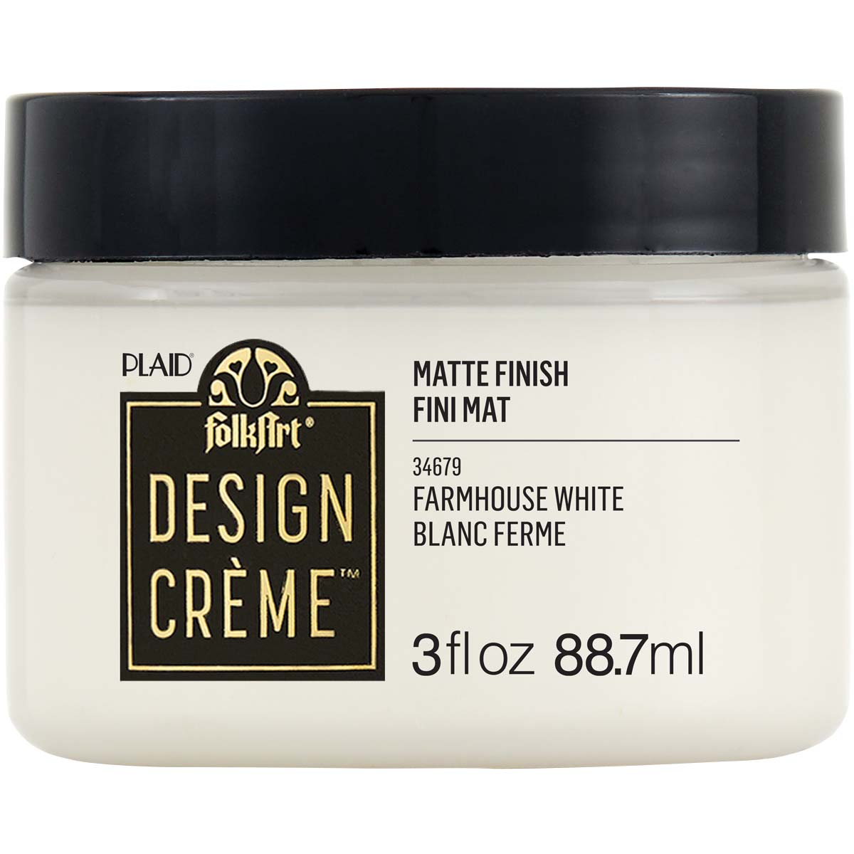 FolkArt ® Design Creme™ - Farmhouse White, 3 oz. - 34679