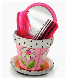 Girls Flower Pot