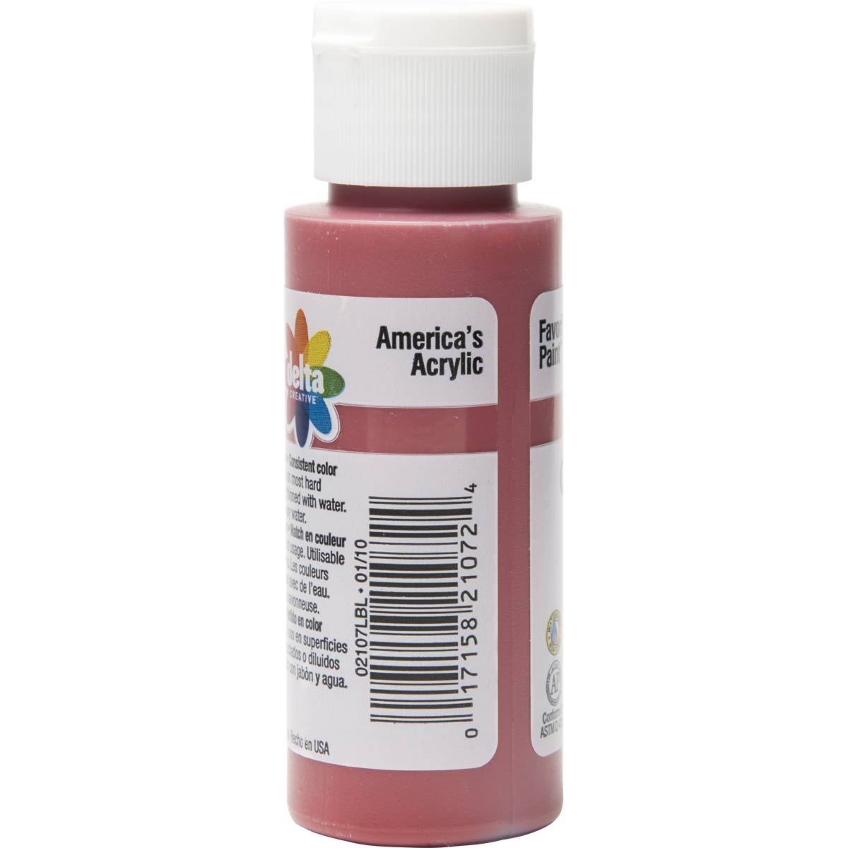 Delta Ceramcoat ® Acrylic Paint - Tompte Red, 2 oz.