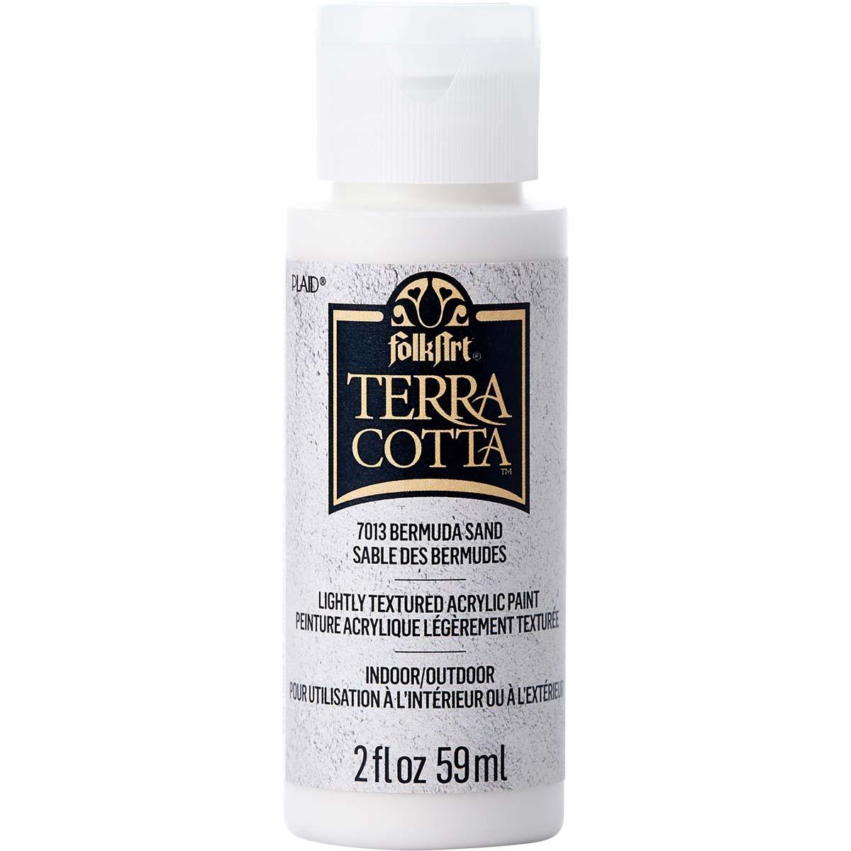 FolkArt ® Terra Cotta™ Acrylic Paint - Bermuda Sand, 2 oz. - 7013