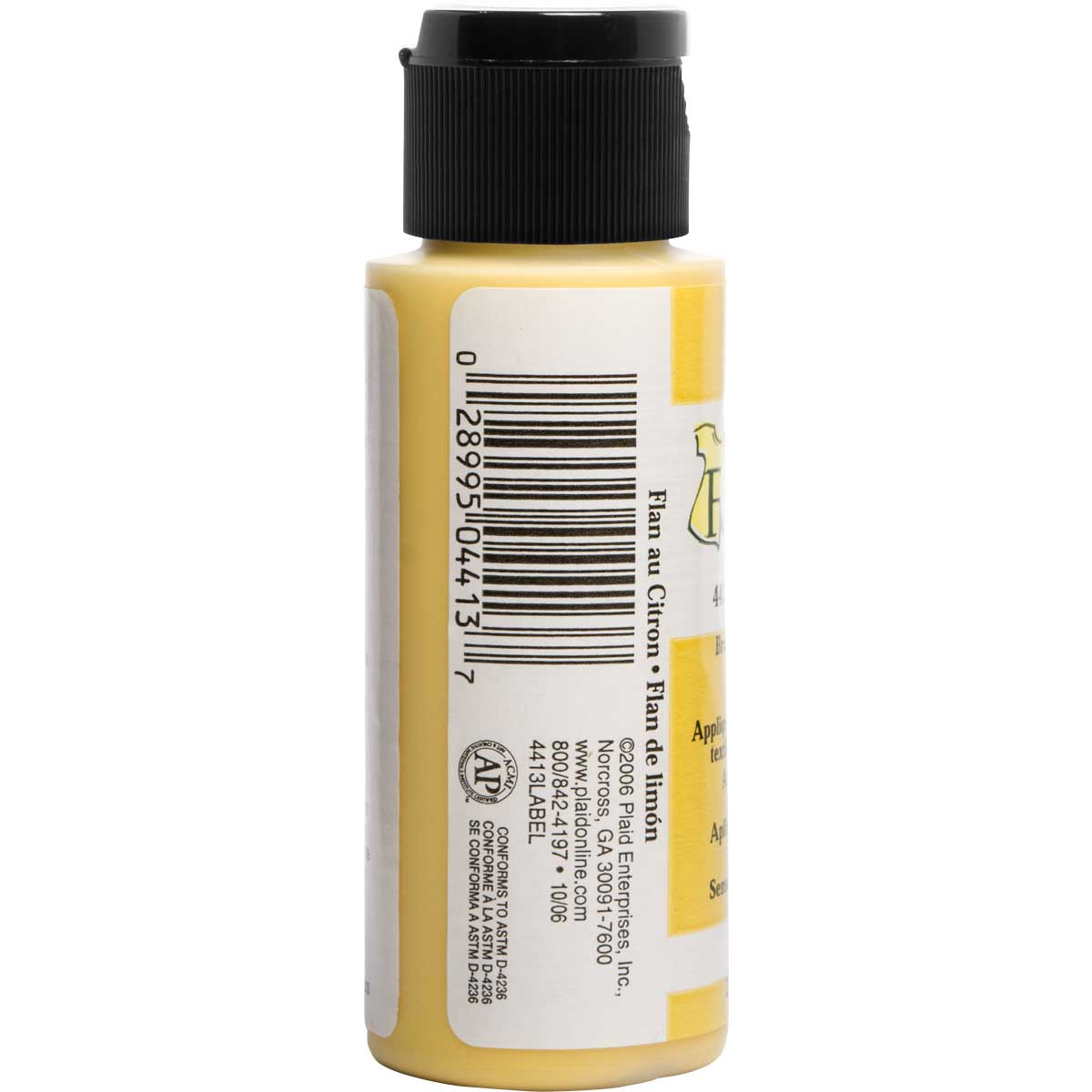 FolkArt ® Fabric™ Paint - Brush On - Lemon Custard