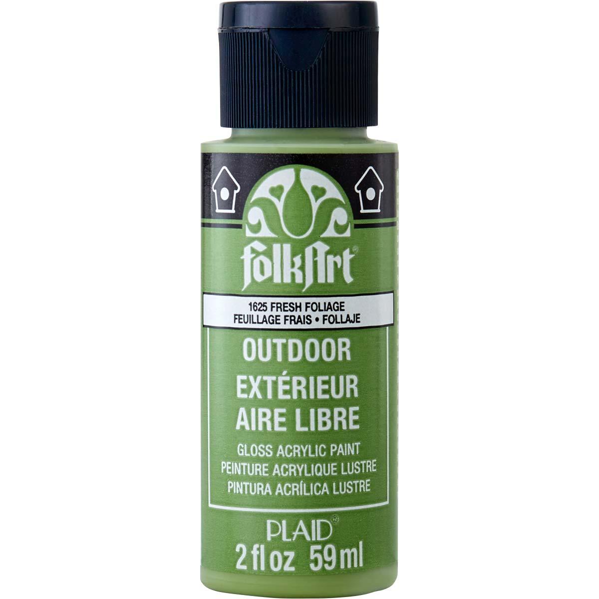FolkArt ® Outdoor™ Acrylic Colors - Fresh Foliage, 2 oz. - 1625