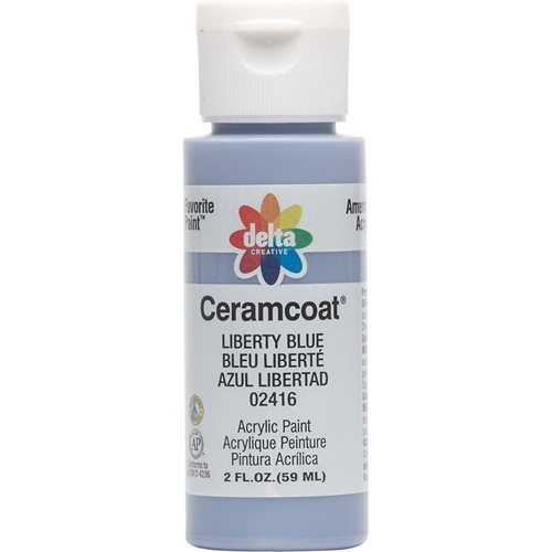 Delta Ceramcoat ® Acrylic Paint - Liberty Blue, 2 oz.
