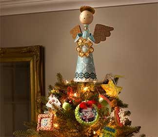 Snowflake Paper Mache Ornament