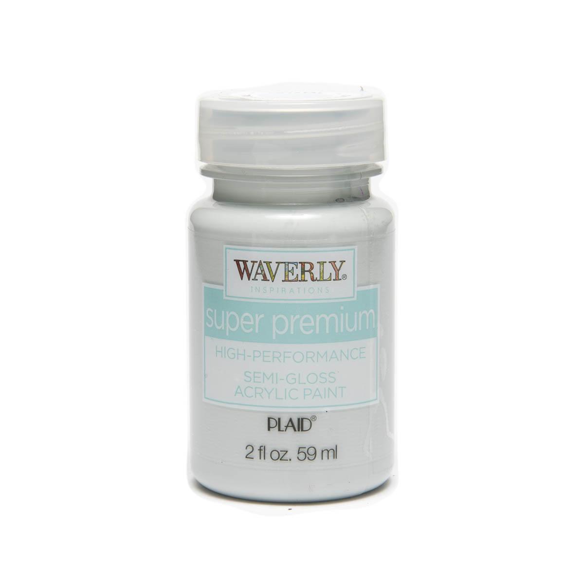 Waverly ® Inspirations Super Premium Semi-Gloss Acrylic Paint - Crystal, 2 oz.