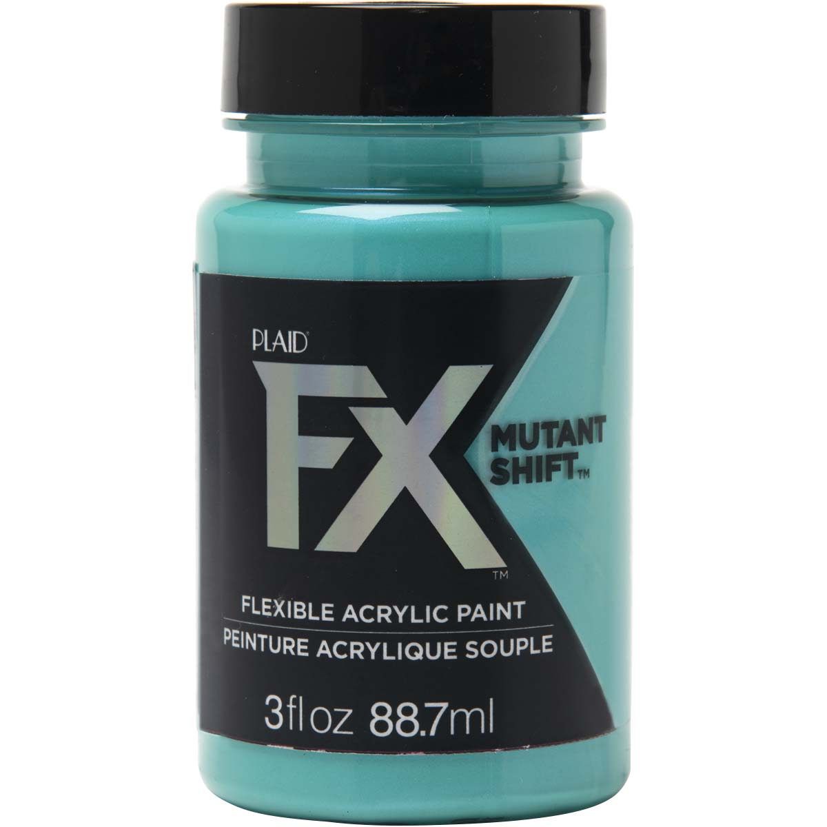 PlaidFX Mutant Shift Flexible Acrylic Paint - Amino Aqua, 3 oz. - 36908