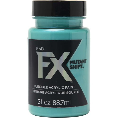 PlaidFX Mutant Shift Flexible Acrylic Paint - Aqua, 3 oz. - 36908