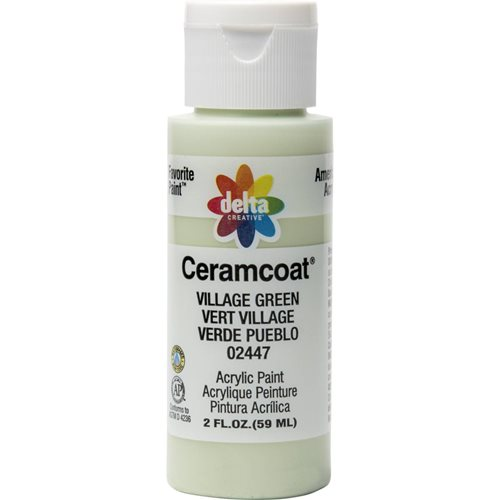 Delta Ceramcoat ® Acrylic Paint - Village Green, 2 oz.