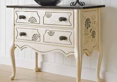 Classic Stenciled Dresser