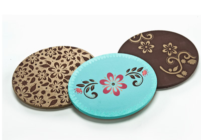 Bohemian Inspired Oval Canvases