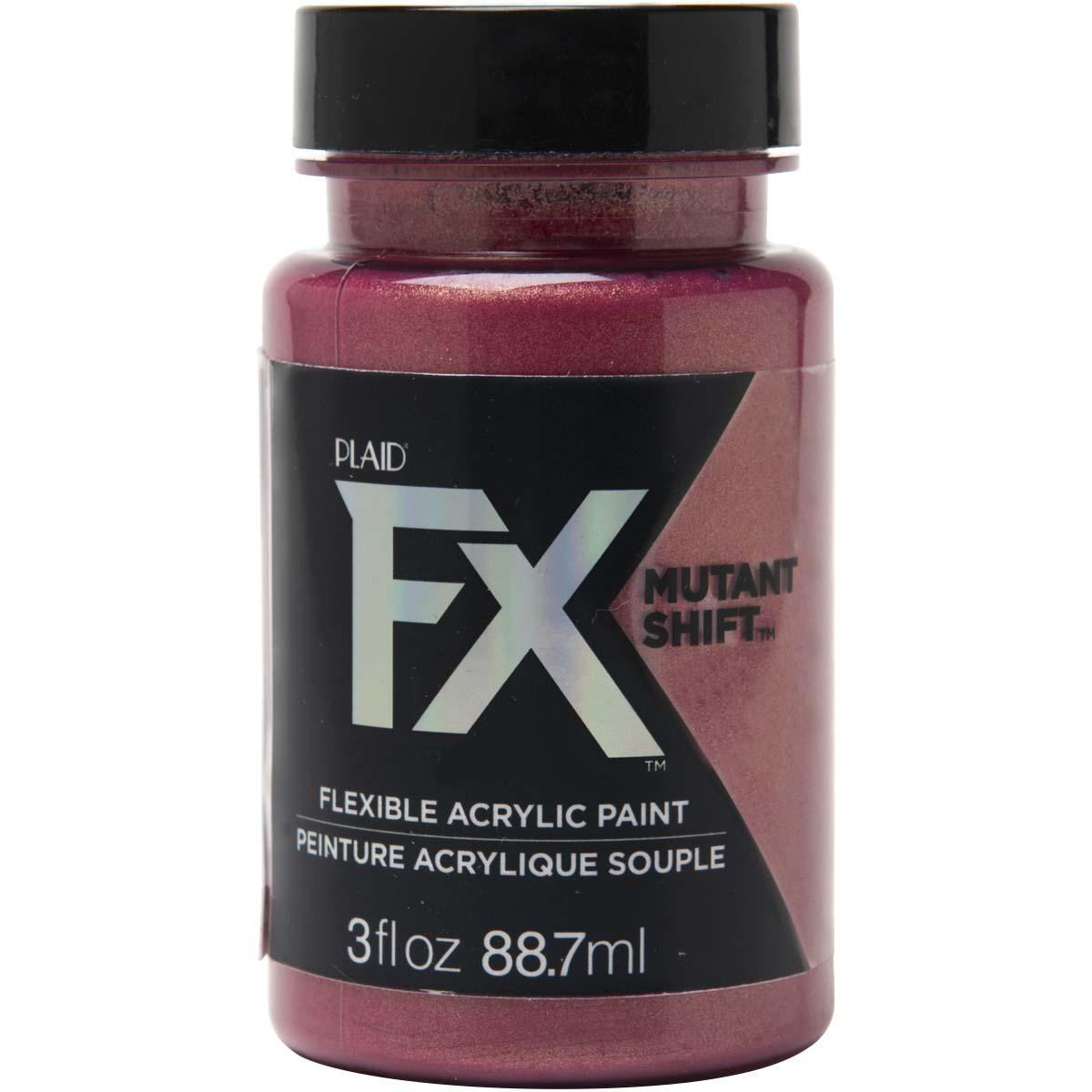 PlaidFX Mutant Shift Flexible Acrylic Paint - Infrared, 3 oz. - 36916