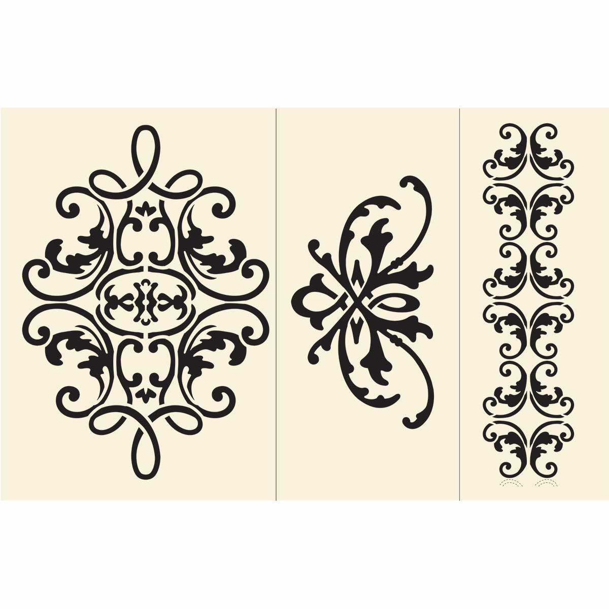 Anna Griffin ® Stencil Kit - Lace - 39531
