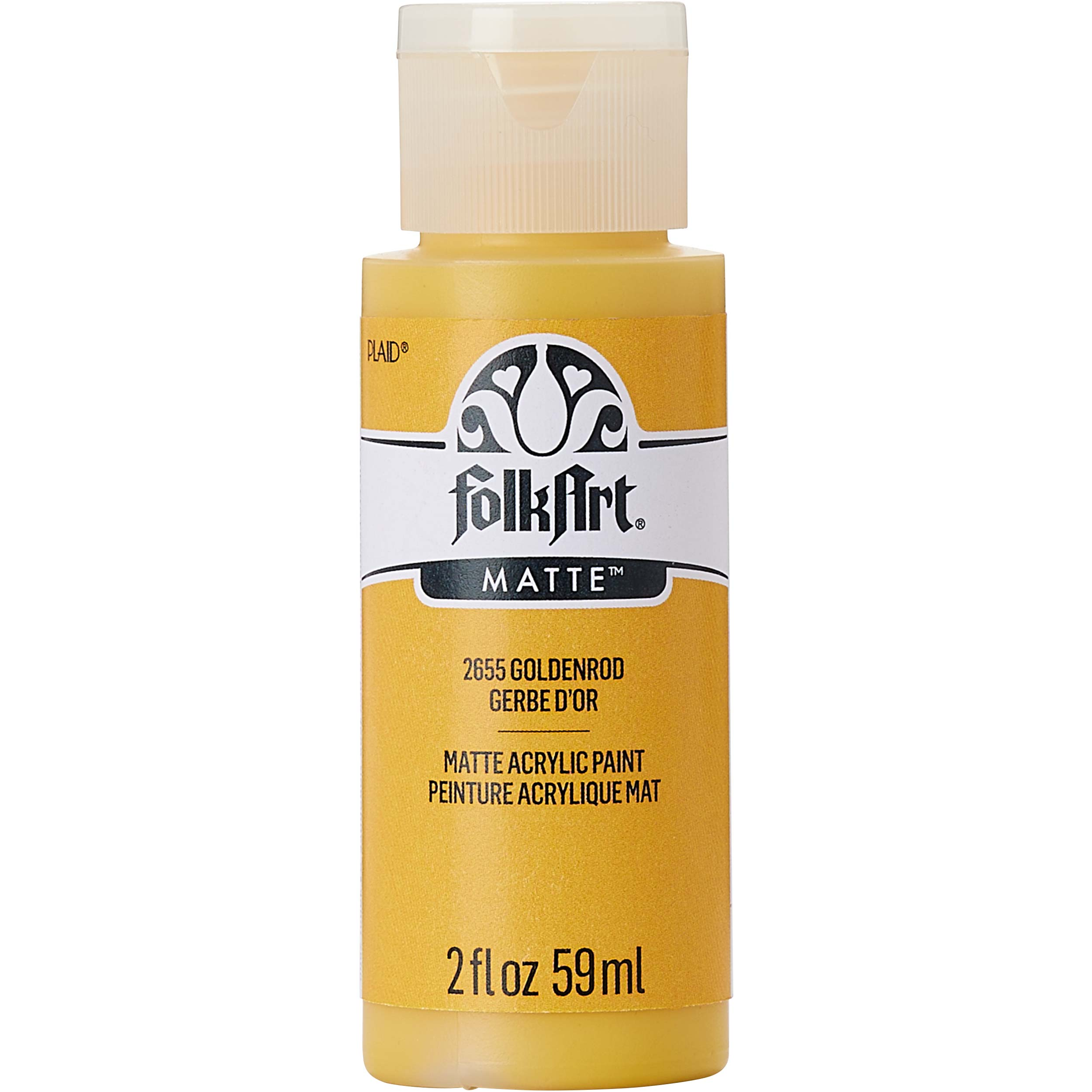 FolkArt ® Acrylic Colors - Goldenrod, 2 oz. - 2655