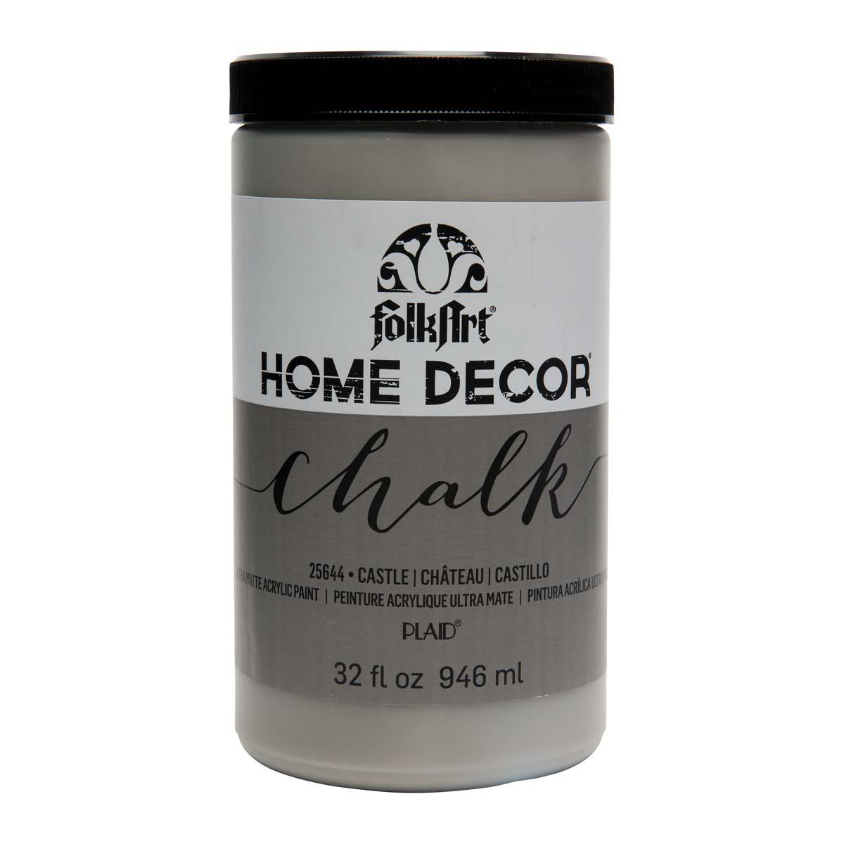 FolkArt ® Home Decor™ Chalk - Castle, 32 oz.