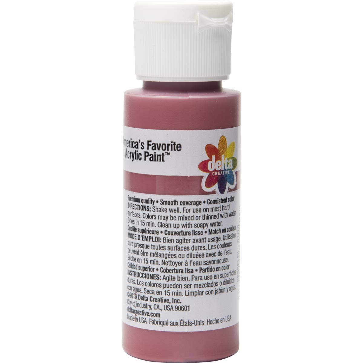 Delta Ceramcoat ® Acrylic Paint - Moroccan Red, 2 oz.