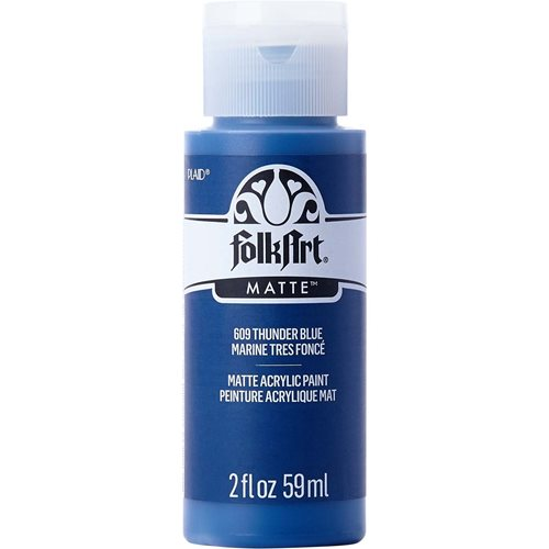 FolkArt ® Acrylic Colors - Thunder Blue, 2 oz. - 609