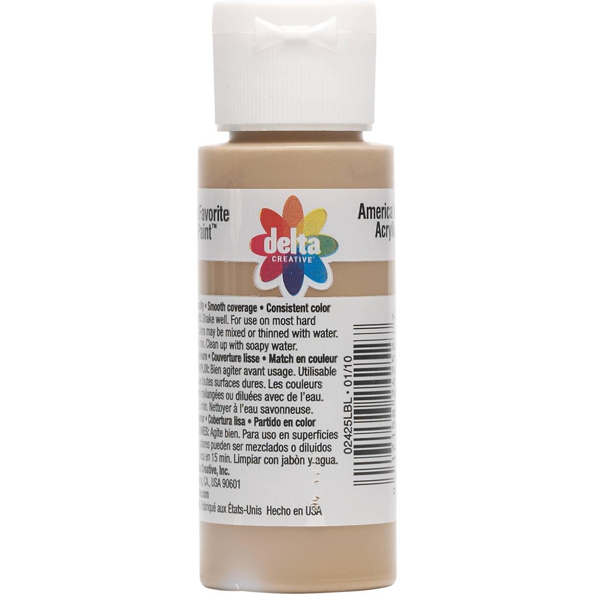 Delta Ceramcoat ® Acrylic Paint - Territorial Beige, 2 oz. - 024250202W