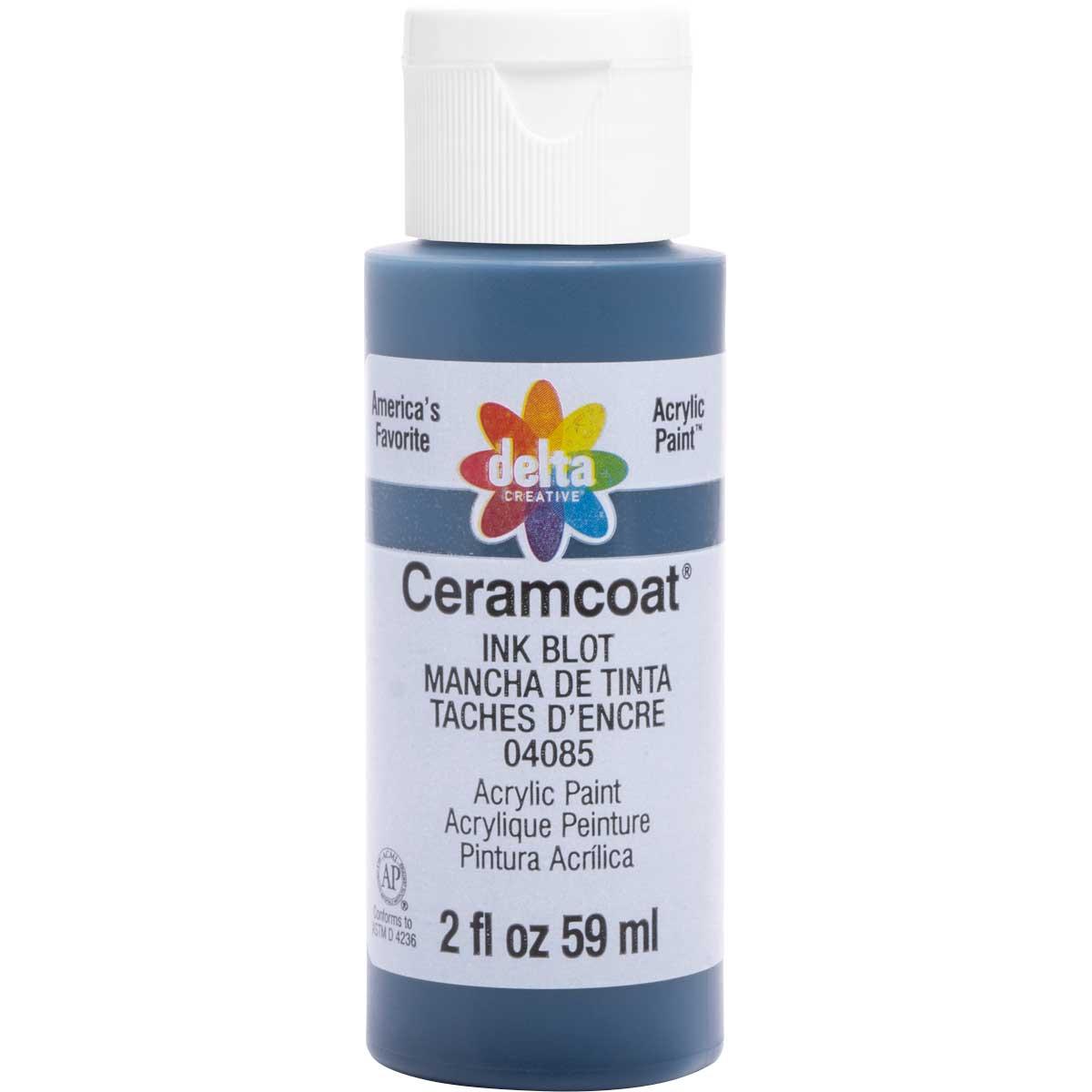 Delta Ceramcoat ® Acrylic Paint - Ink Blot, 2 oz.