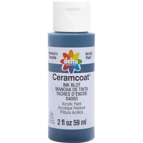 Delta Ceramcoat ® Acrylic Paint - Ink Blot, 2 oz.