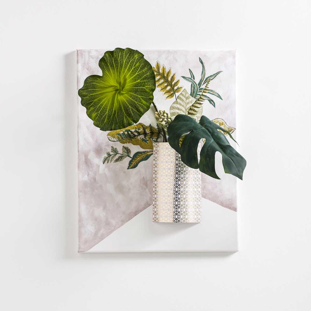 Tropical Vibes 3D Flower Wall Art