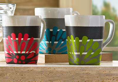 Mod Coffee Mugs