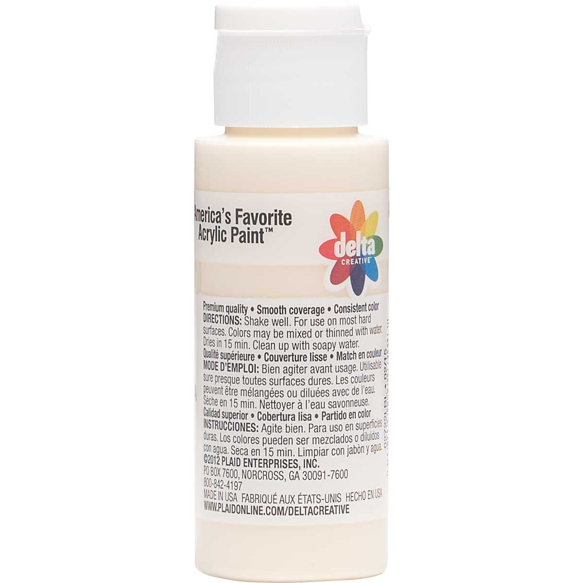 Delta Ceramcoat ® Acrylic Paint - Peaches-N-Cream, 2 oz. - 02722