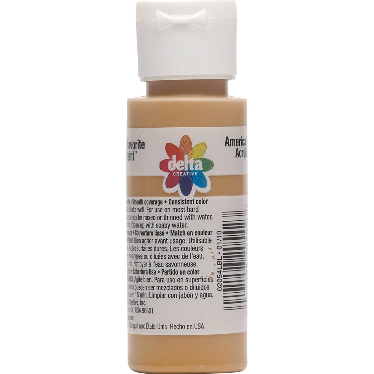 Delta Ceramcoat ® Acrylic Paint - Golden Brown, 2 oz.