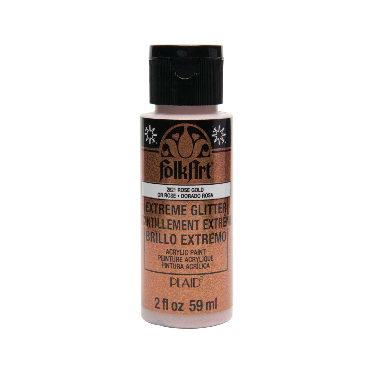 FolkArt ® Extreme Glitter™ - Rose Gold, 2 oz.