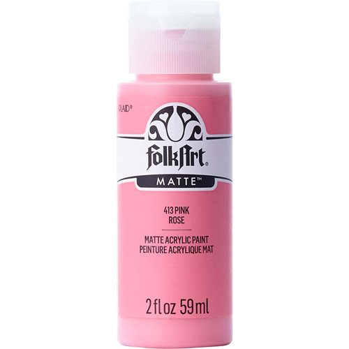 FolkArt ® Acrylic Colors - Pink, 2 oz. - 413