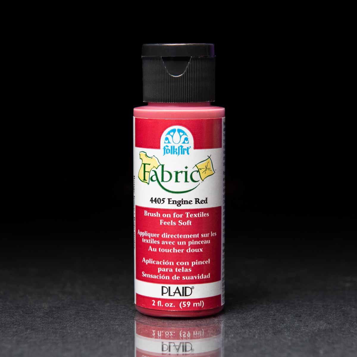 FolkArt ® Fabric™ Paint - Brush On 8 Color Set - FAB8SET