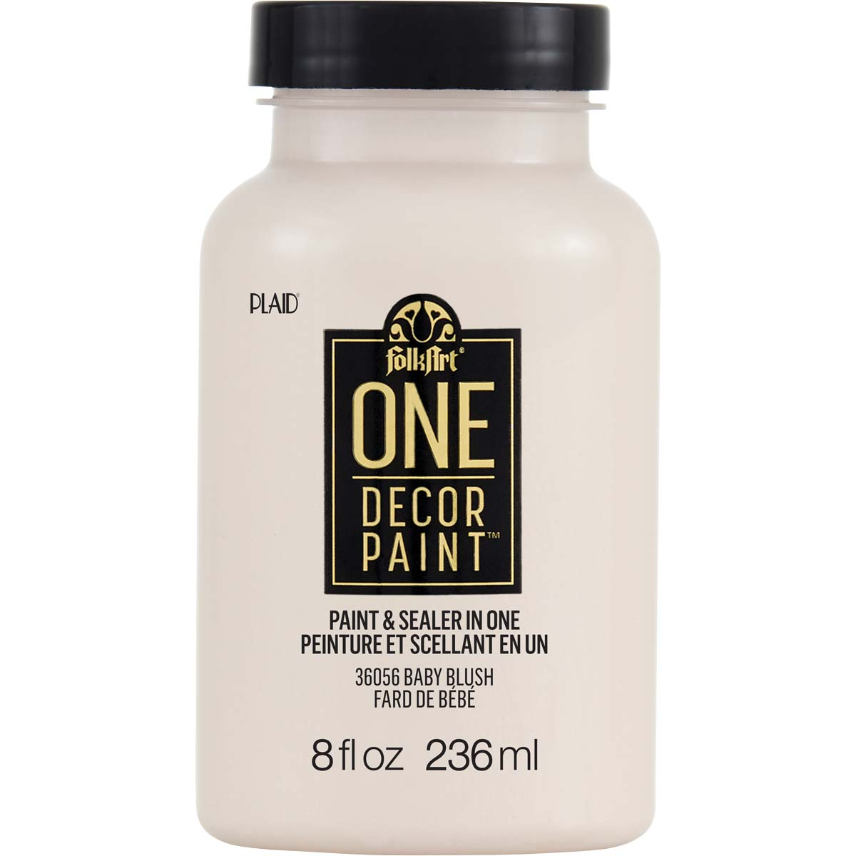 FolkArt ® One Décor Paint™ - Baby Blush, 8 oz. - 36056