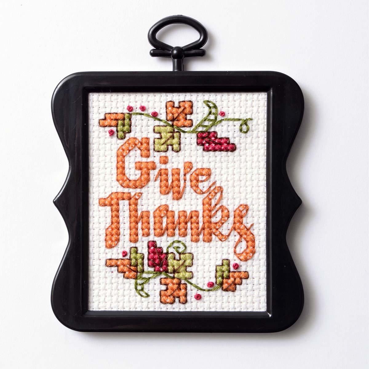 Free Thanksgiving Cross Stitch Pattern